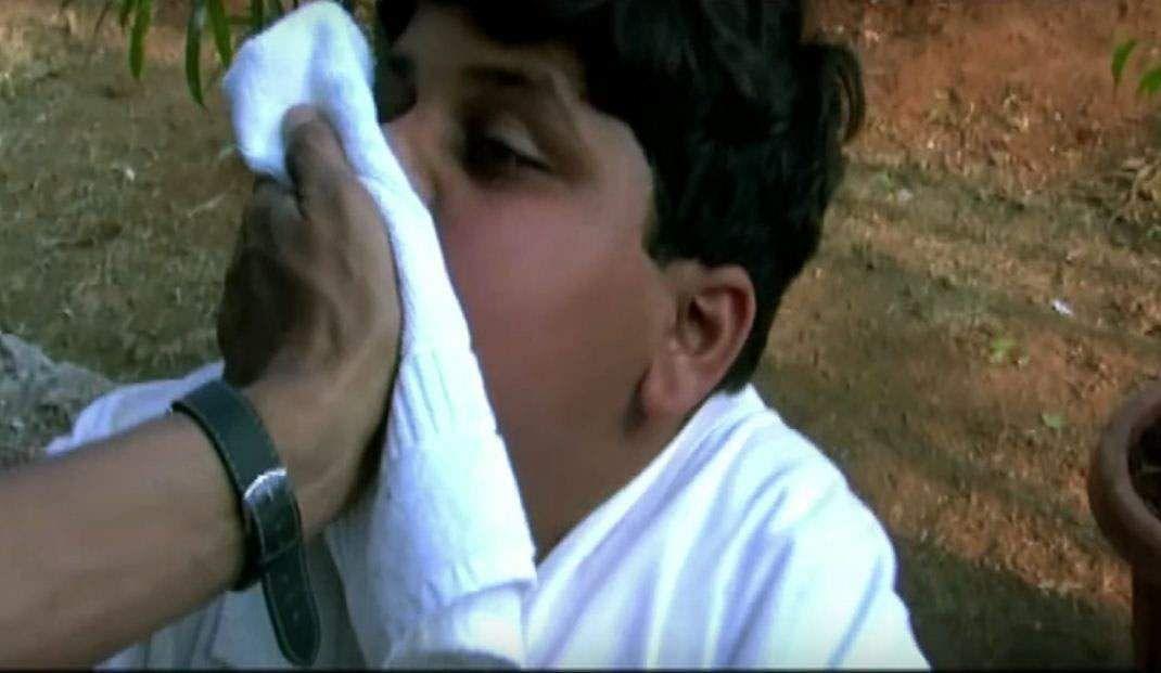 Film über indischen mann aus weißen mädchen
