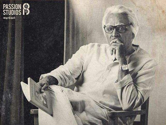 Vijay Sethupathi plays a veteran drama artist in 'Seethakathi'
