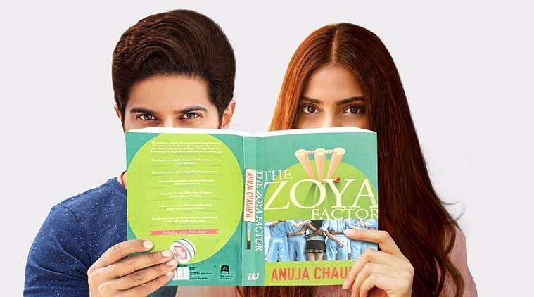 Here's the first look of Sonam - Dulquer's 'Zoya Factor'!