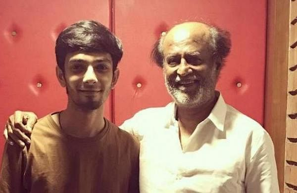 Anirudh and Rajinikanth