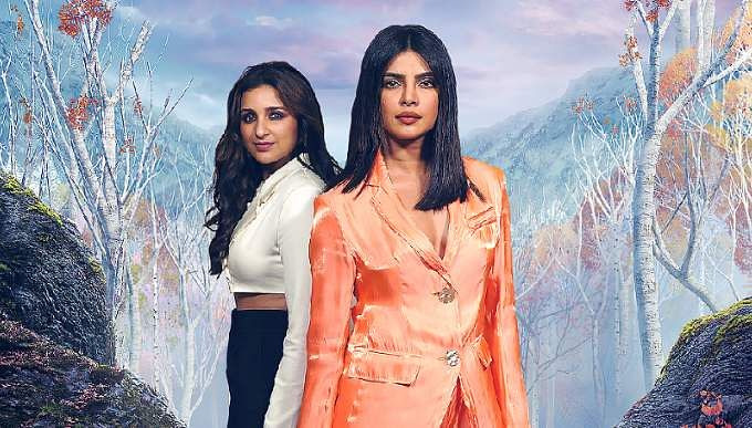 Priyanka and Parineeti dub for Frozen 2