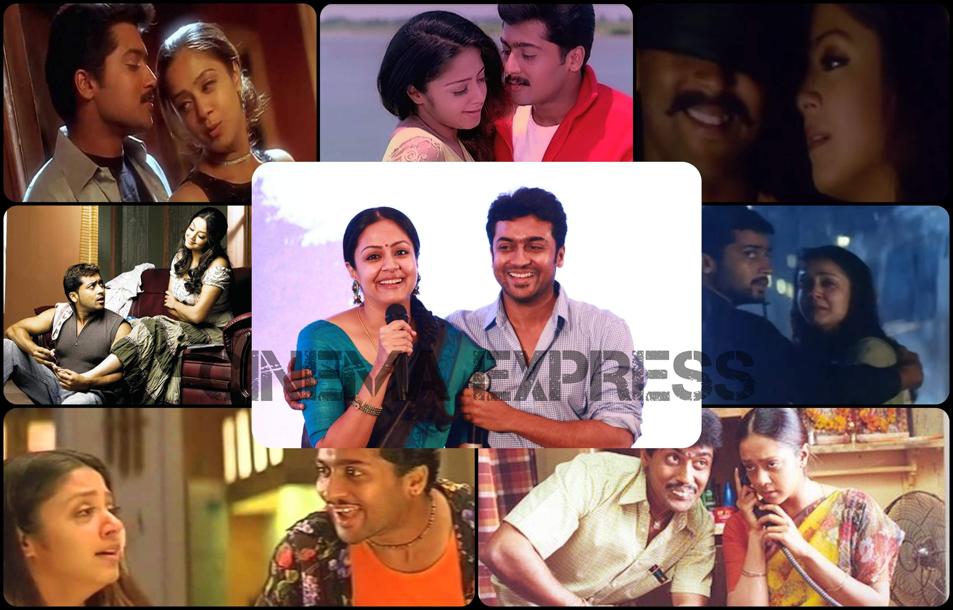 Seven times Suriya and Jyotika romanced their way into our hearts