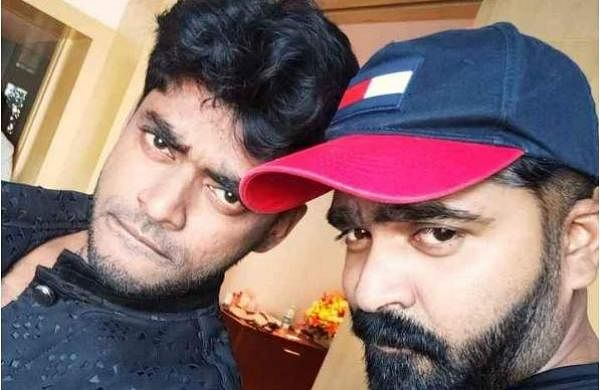 Dance choreographer Sandy with actor Simbu