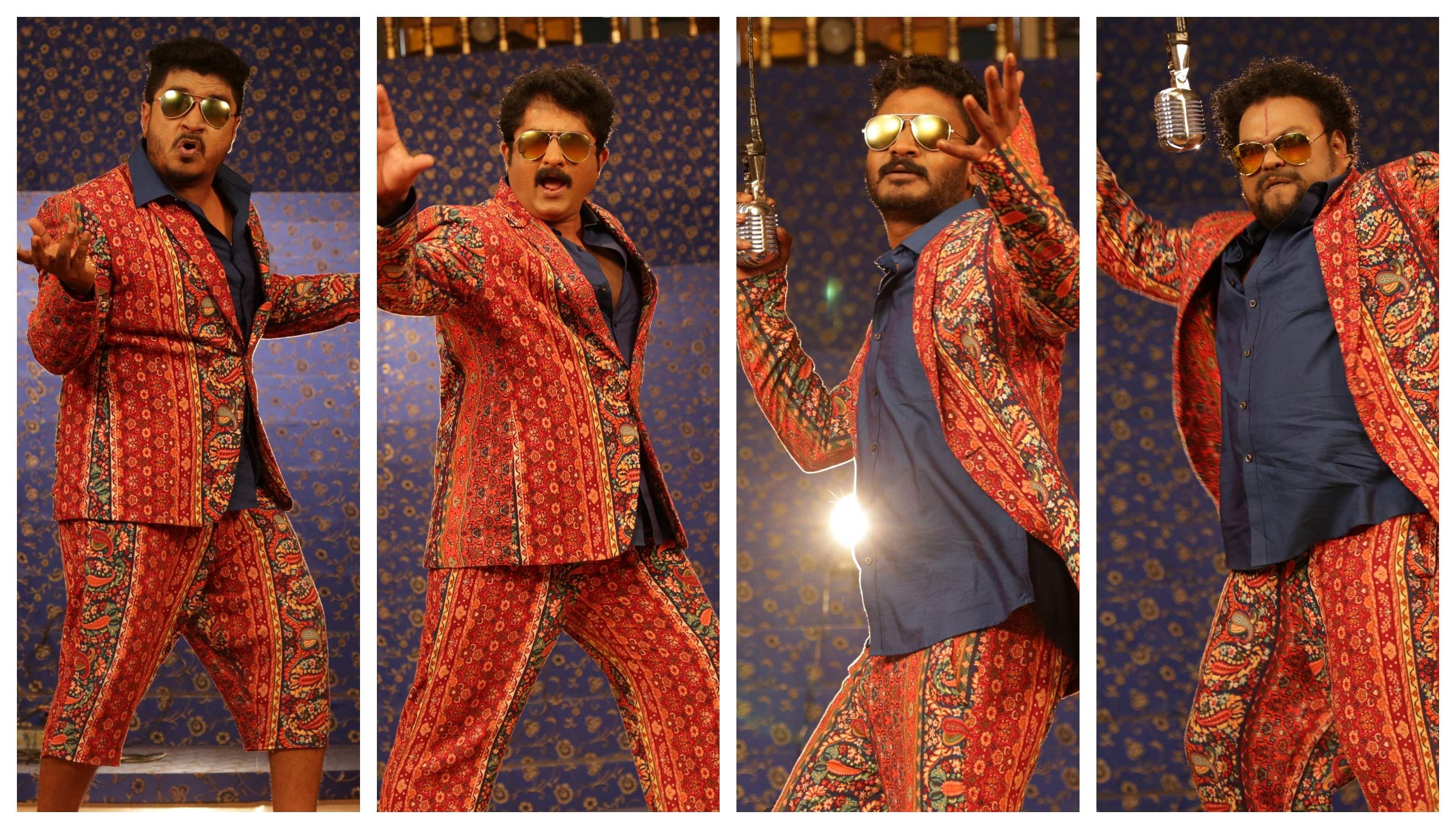 Sadhu Kokila, Chikkanna, Kuri Prathap, and Ravi Shankar Gowda