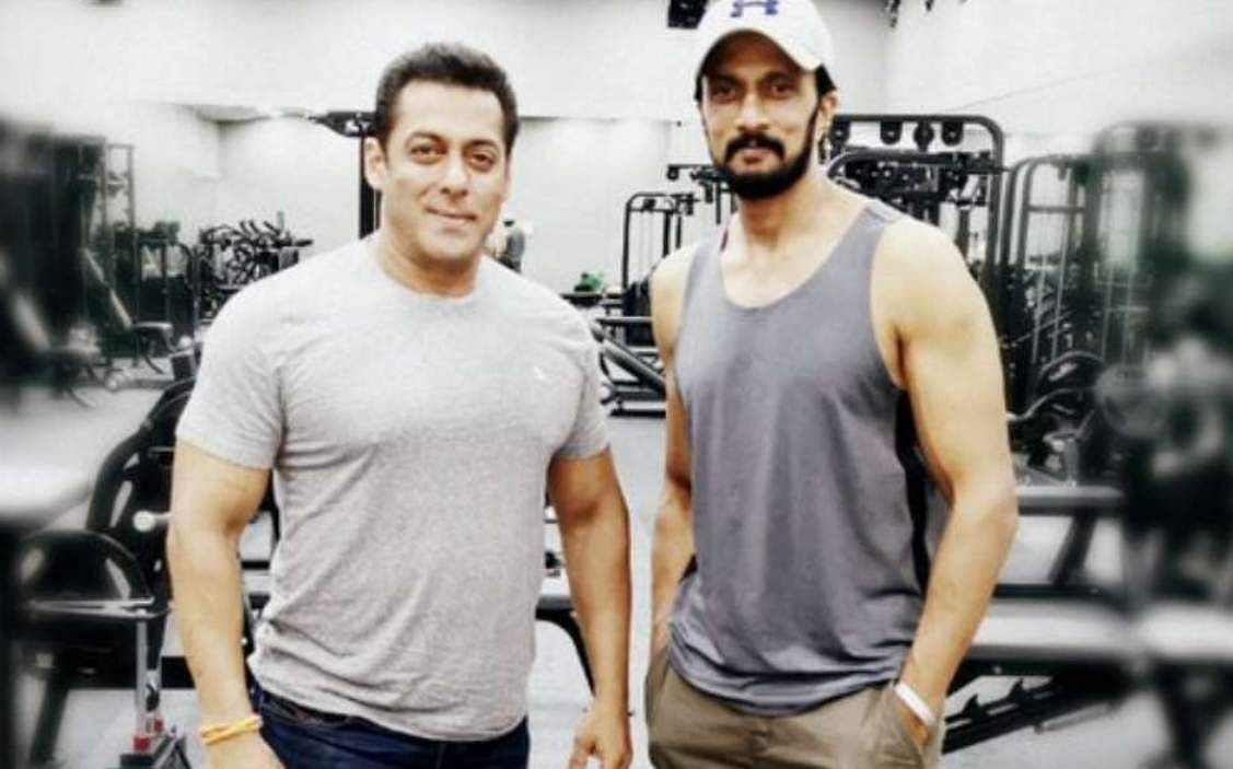 Salman Khan and Sudeep