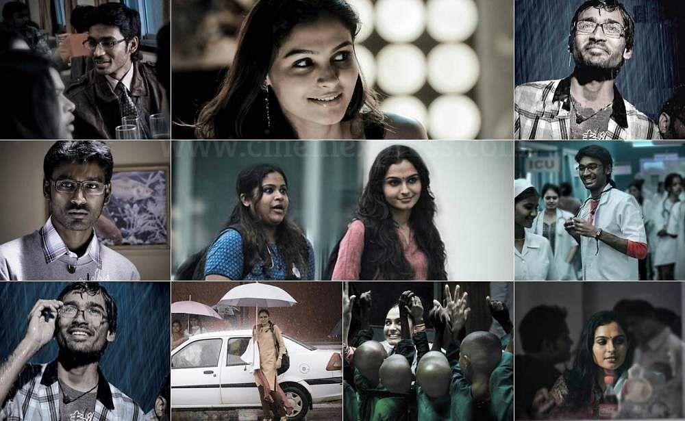 6 Years of Selvaraghavan 's Irandaam Ulagan: Stills ft. Dhanush & Andrea  Jeremiah from the film's fi- Cinema express