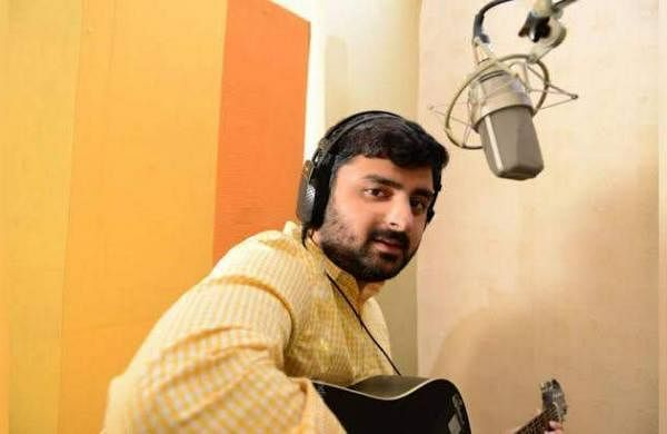 Anup Bhandari turns rapper