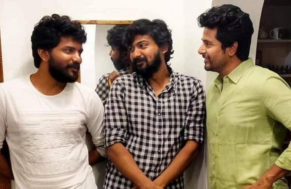 Kavin with Dharshan and Sivakarthikeyan