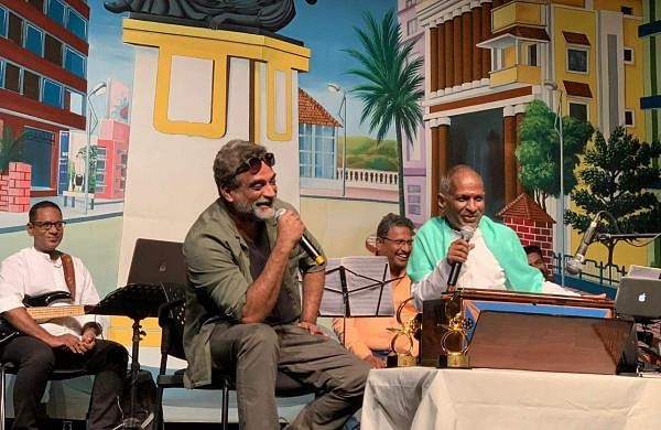 Ilaiyaraaja and Balki
