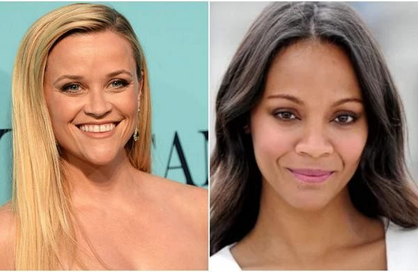 Reese Witherspoon and Zoe Saldana