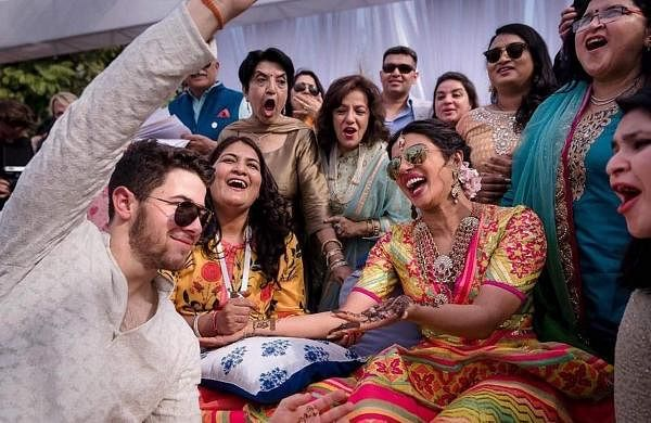 From the sangeer of Priyanka Chopra and Nick Jonas