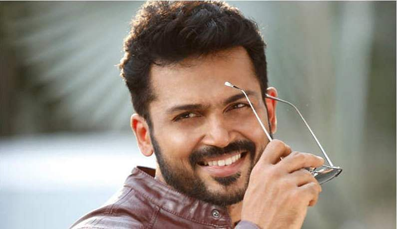 Karthi dual role in PS Mithran