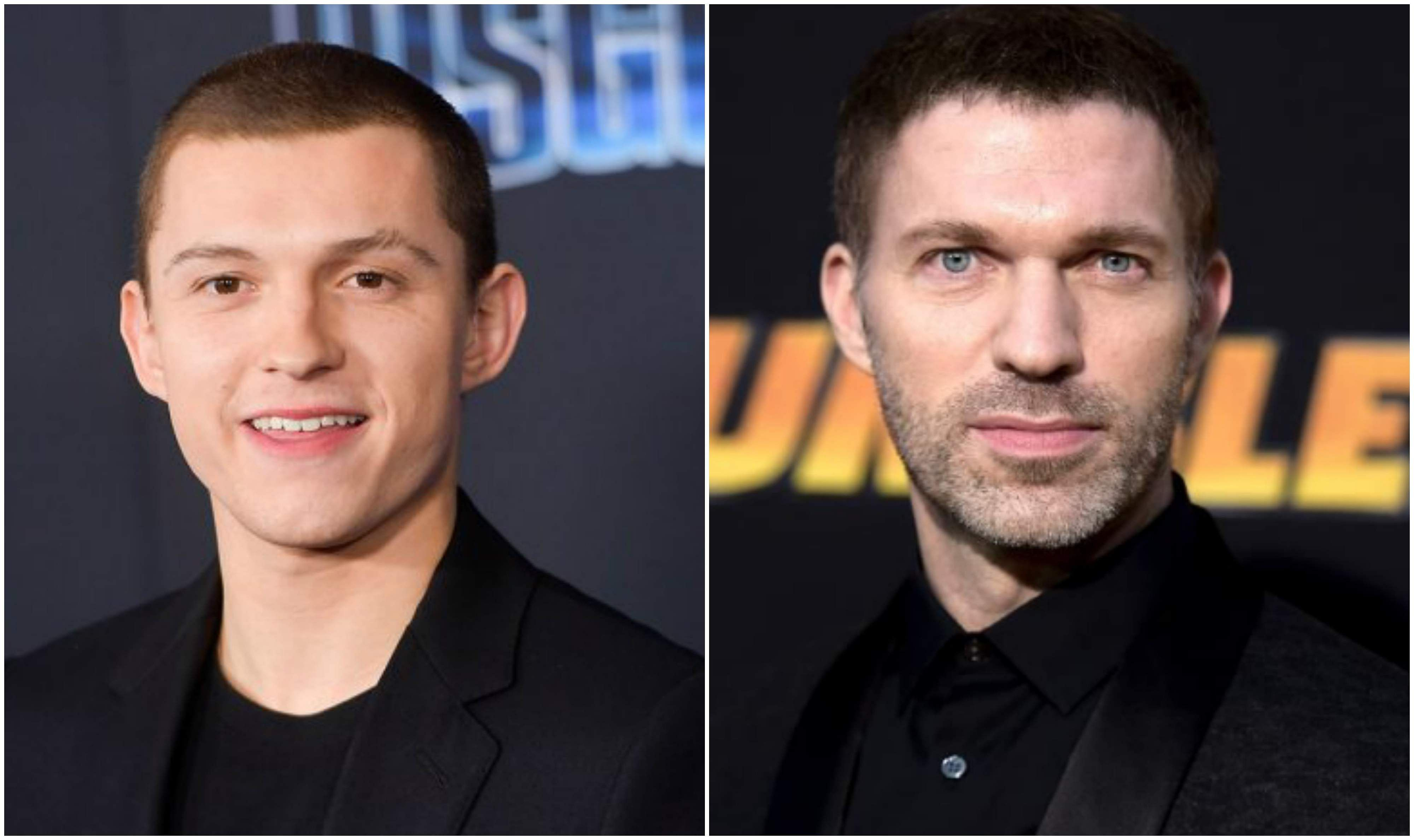 Tom Holland and Travis Knight