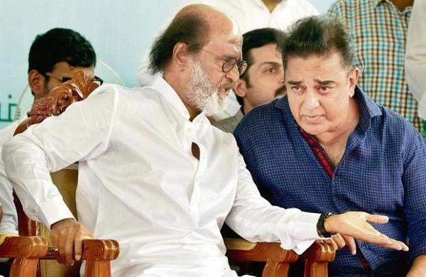 Rajinikanth and Kamal Haasan
