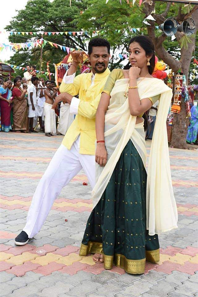 Prabhudeva and Lakshmi Menon in Yung Mung Sung