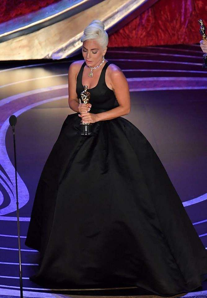 Lady Gaga at the Oscars 2019
