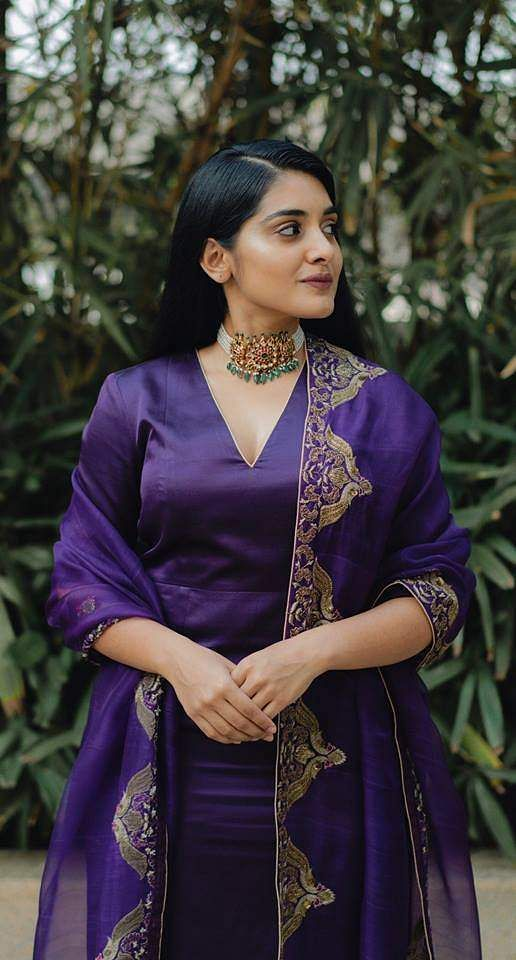 Nivetha Thomas at the pre-release event of 118