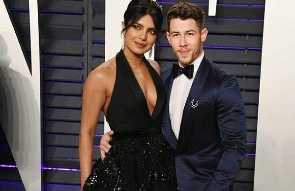 Priyanka Chopra and Nick Jonas at the Oscar after-party