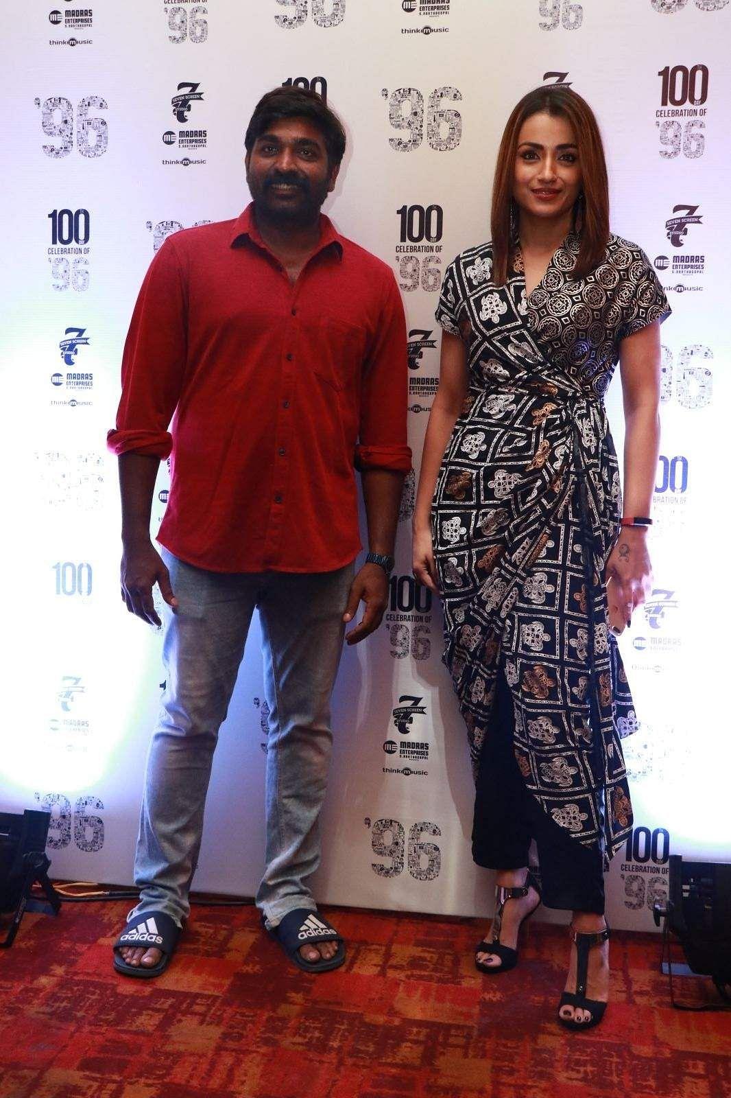 96 Success Meet Vijay Sethupathi Trisha Gauri Kishan 16