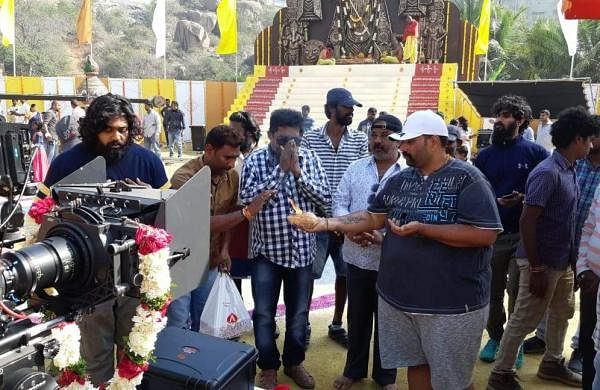 Dhruva-Sarja-Rashmika-Mandanna-Pogaru