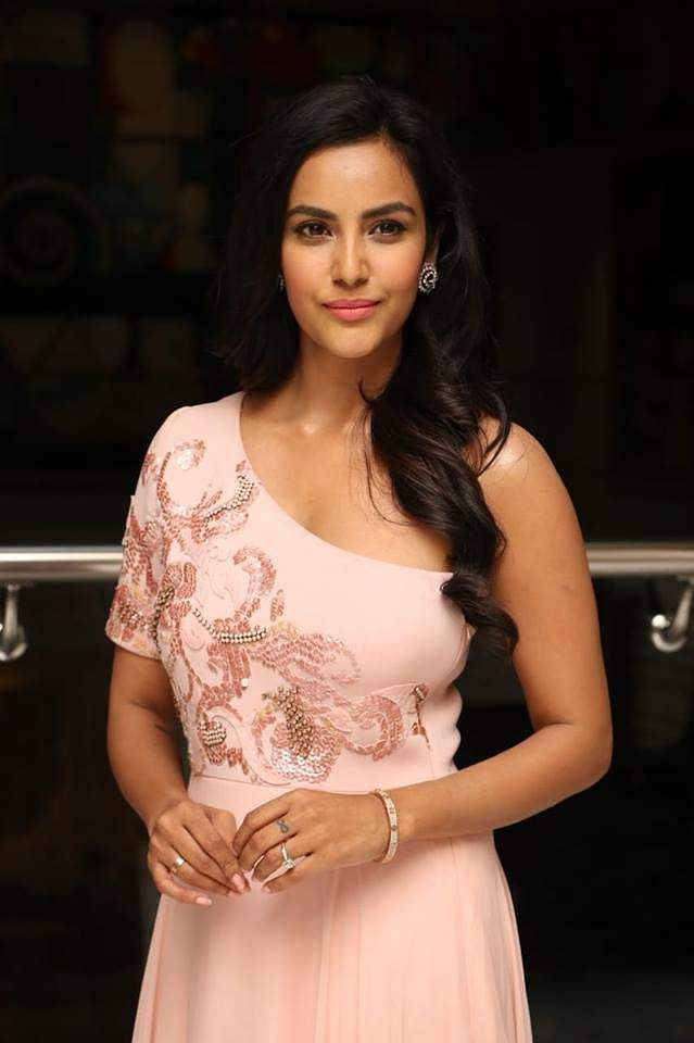 Latest clicks of Priya Anand from LKG success meet