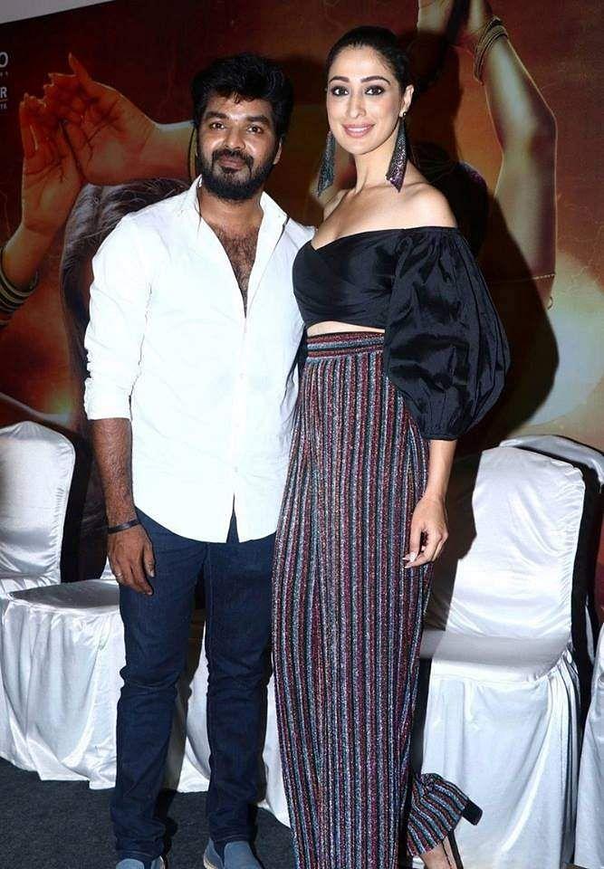 Raai Laxmi and Jai in Neeya 2 press meet