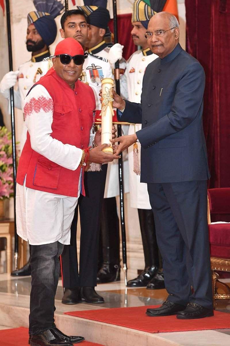 Sivamani Padma Shri