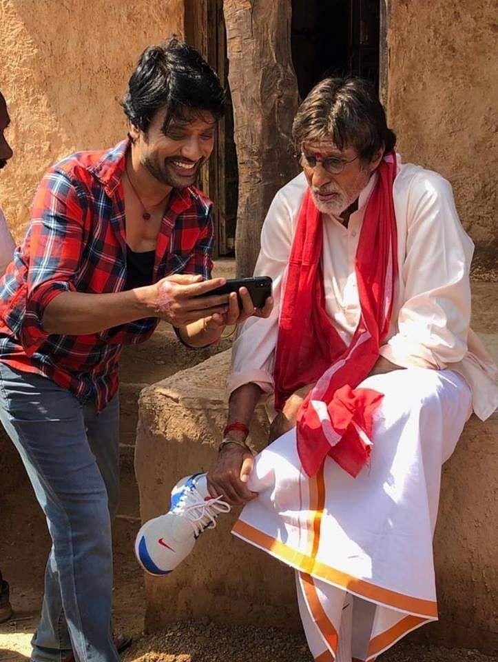 SJ Suryah and Amitabh Bachchan