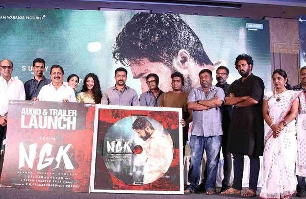 NGK Audio and Trailer Launch Suriya Selvaraghavan