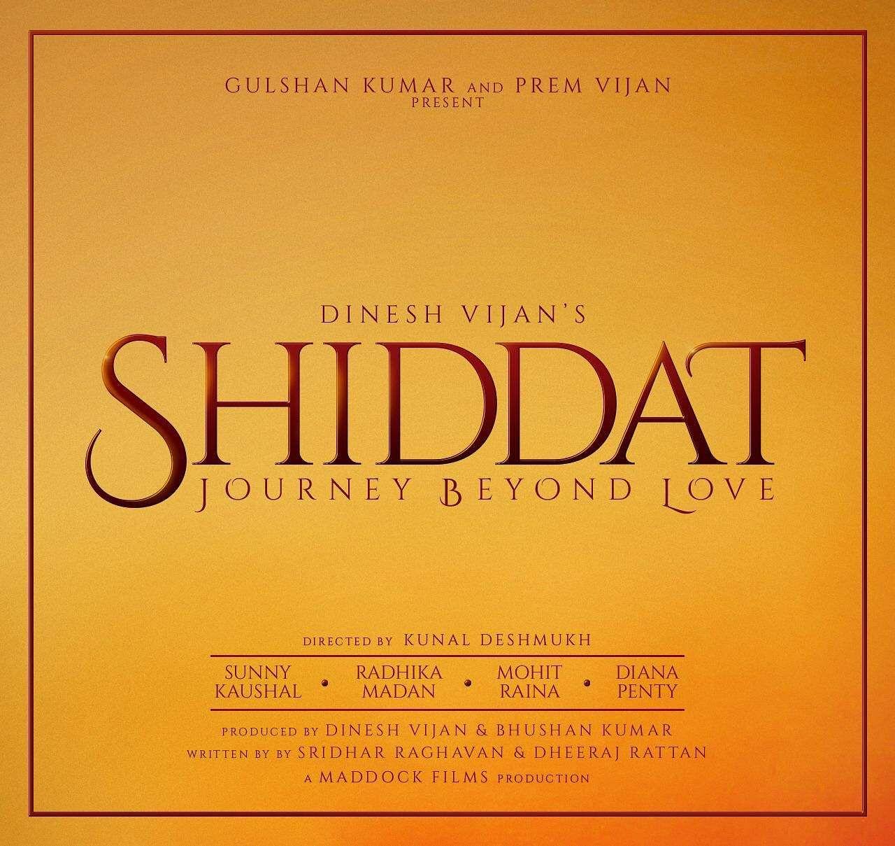 Radhika Madan Sunny Kaushal Diana Penty Mohit Raina Shiddat