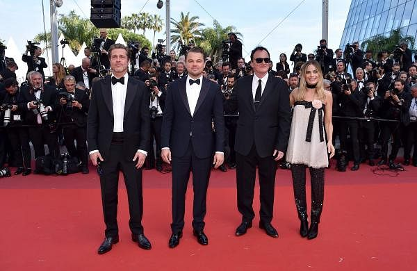Once Upon a Time in Hollywood Quention Tarantino Brad Pitt Leonardo Dicaprio Margot Robbie