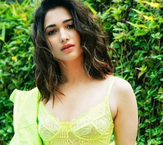 Tamannaah clicked at the promotions forher next Bollywood release, Khamoshi