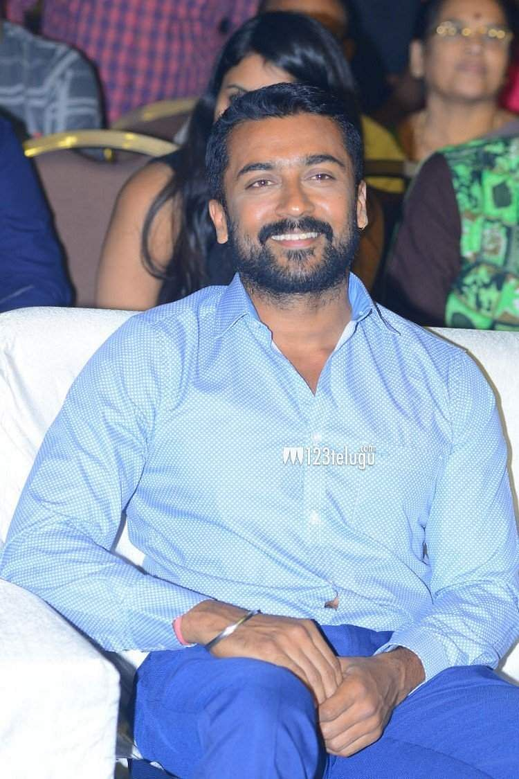 Pictures from Suriya's NGK Pre-release event