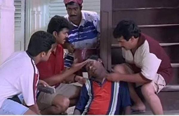 Last pictures of Nesamani and his gang, Vijay, Suirya,