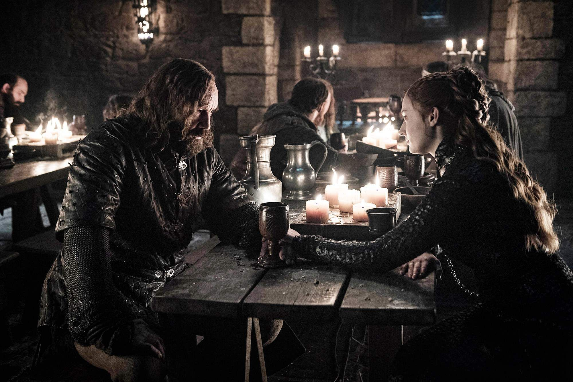 Jessica Chastain Game of Thrones Season 8 Episode 4