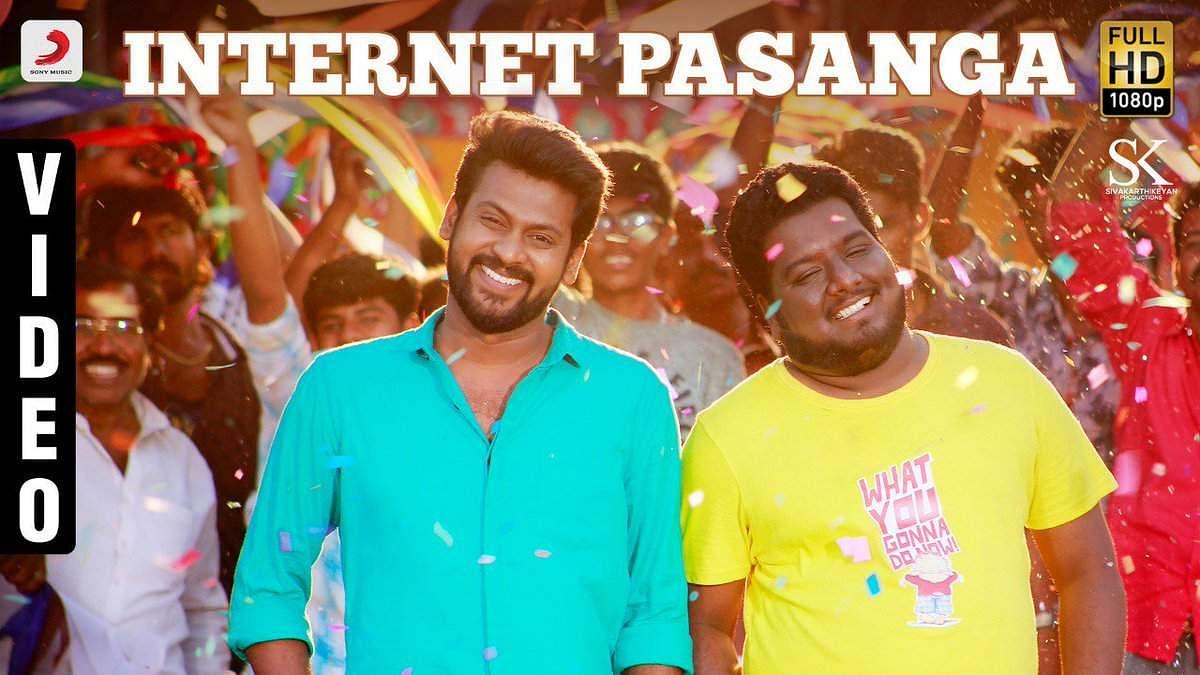Internet Pasanga video song ft  YouTube stars from Nenjamundu