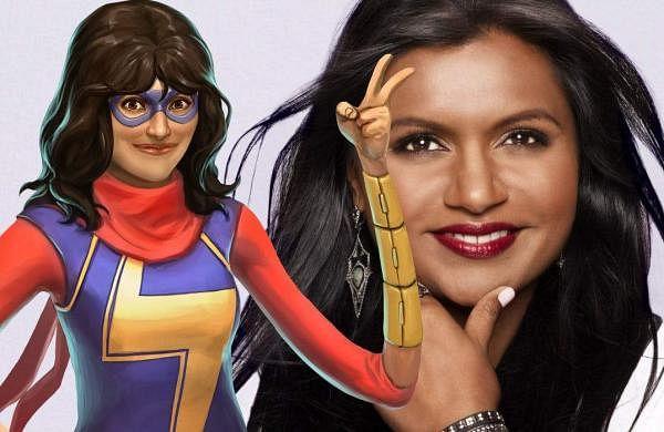 Mindy-Kaling-and-Ms-Marvel-Kamala-Khan