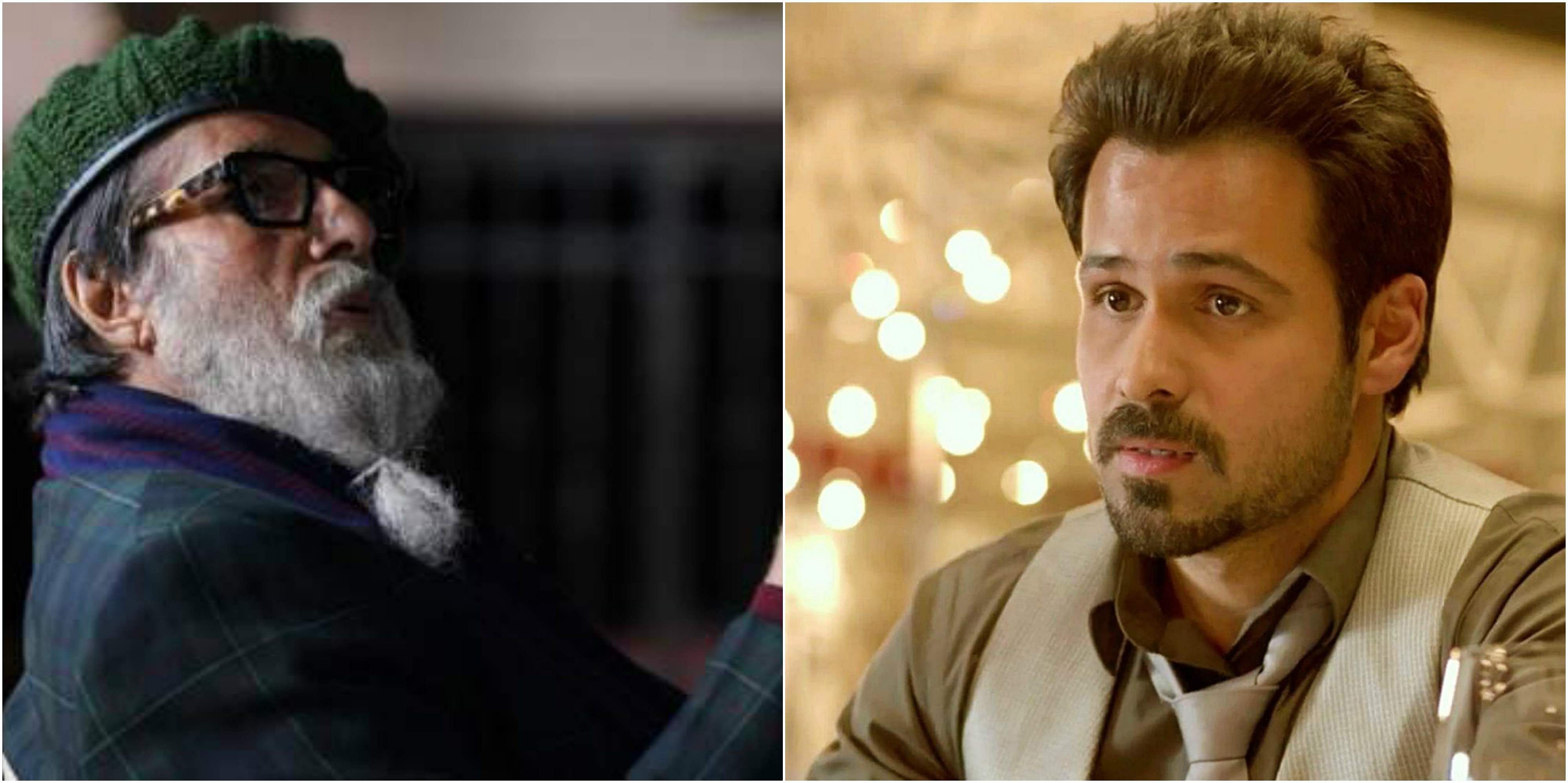 amitabh bachchan and emraan hashmi first look in chehre