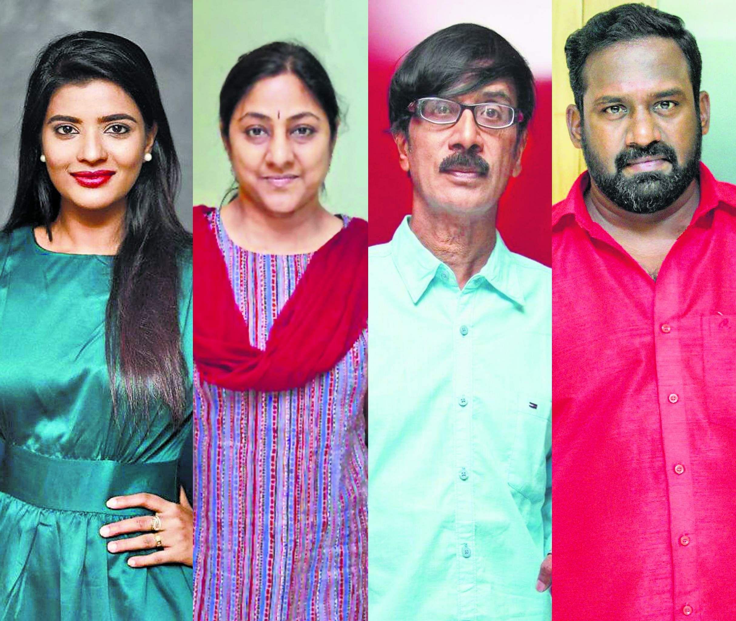 Aishwarya Rajesh Rohini Robo Shankar And Manobala Join The