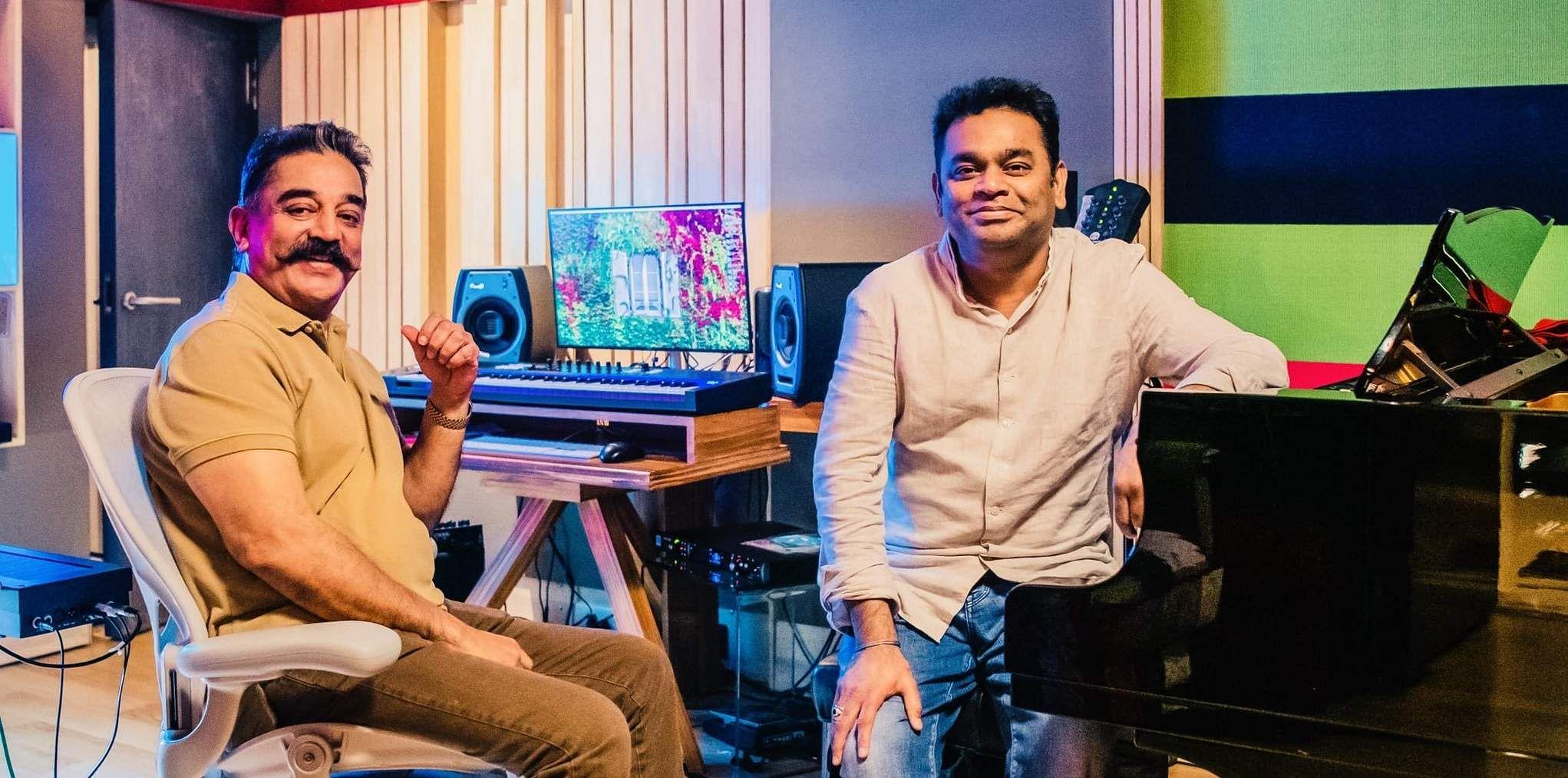 Kamal Haasan Thalaivan Irukkindraan AR Rahman