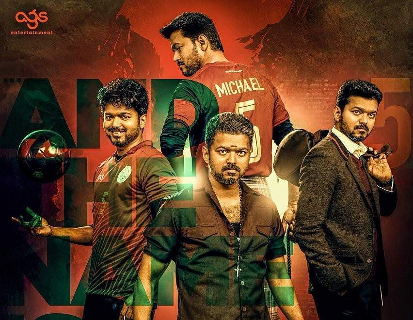Singappenney from Bigil: Thalapathy Vijay looks dashing asthe coach of the women's football team in first images