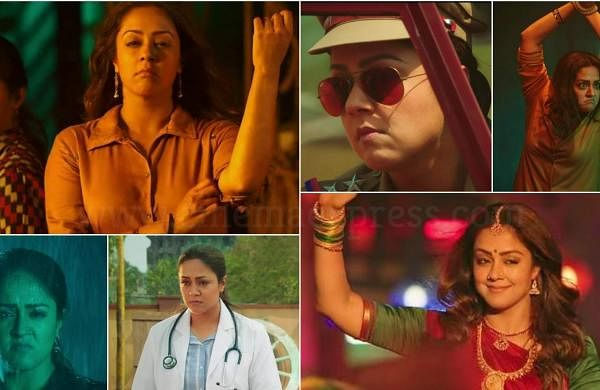 Jyotika's massy, commercial avater in Jackpotseems to befun, and a welcome change from the actor's serious roles off late