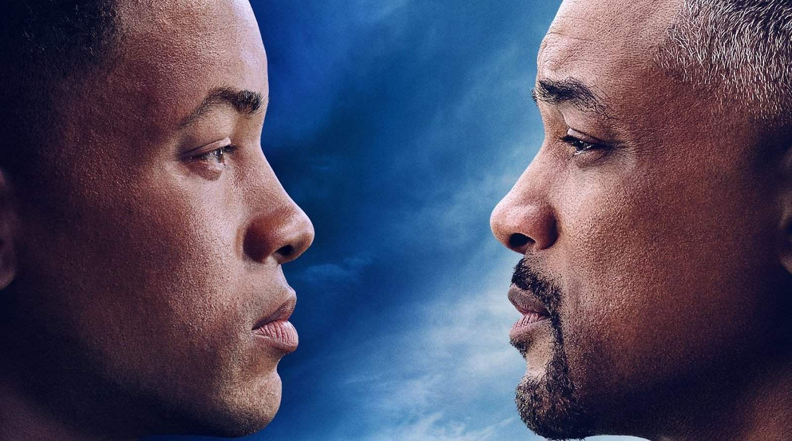 Will Smith freaked out looking at his younger self in Gemini Man
