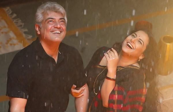 Agalaathey: Brand new HD stills of Thala Ajith and Vidya Balan from Nerkonda Paarvai