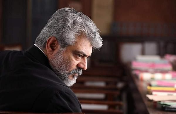 NerKonda Paarvai: Brand new stills of Thala Ajith