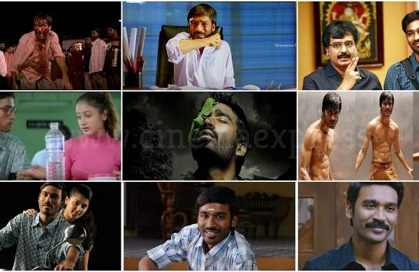 Happy Birthday Dhanush: The Navarasas of the multifaceted actor