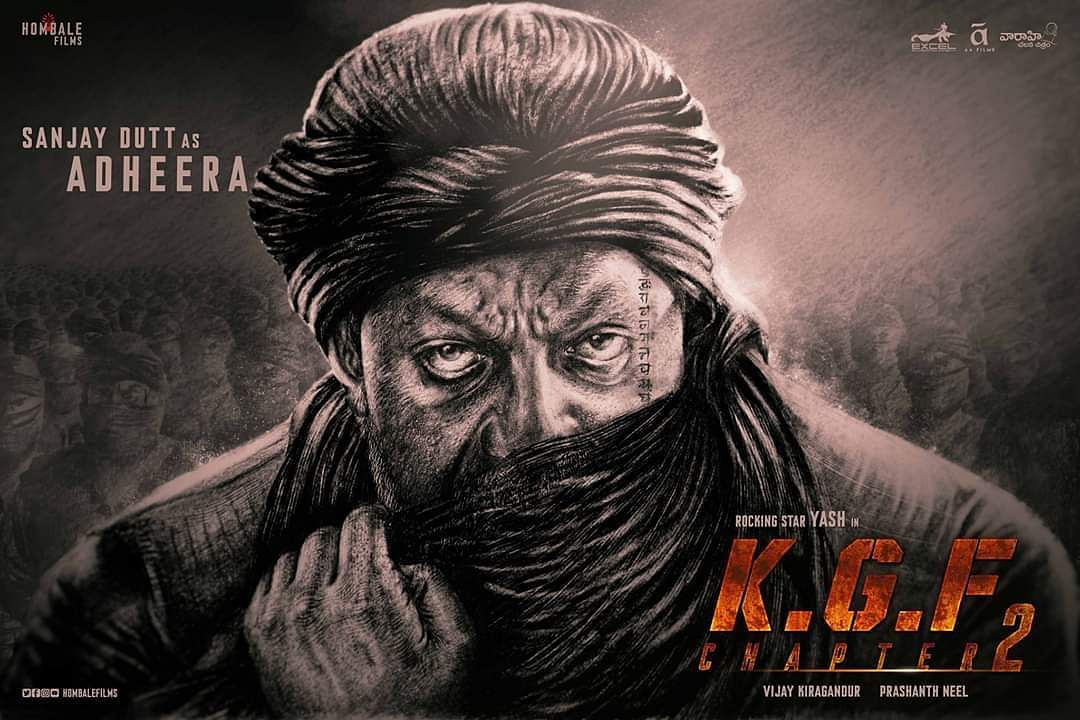 Kgf 2 Makers To Unveil The Look Of The Mysterious Adheera Cinema Express