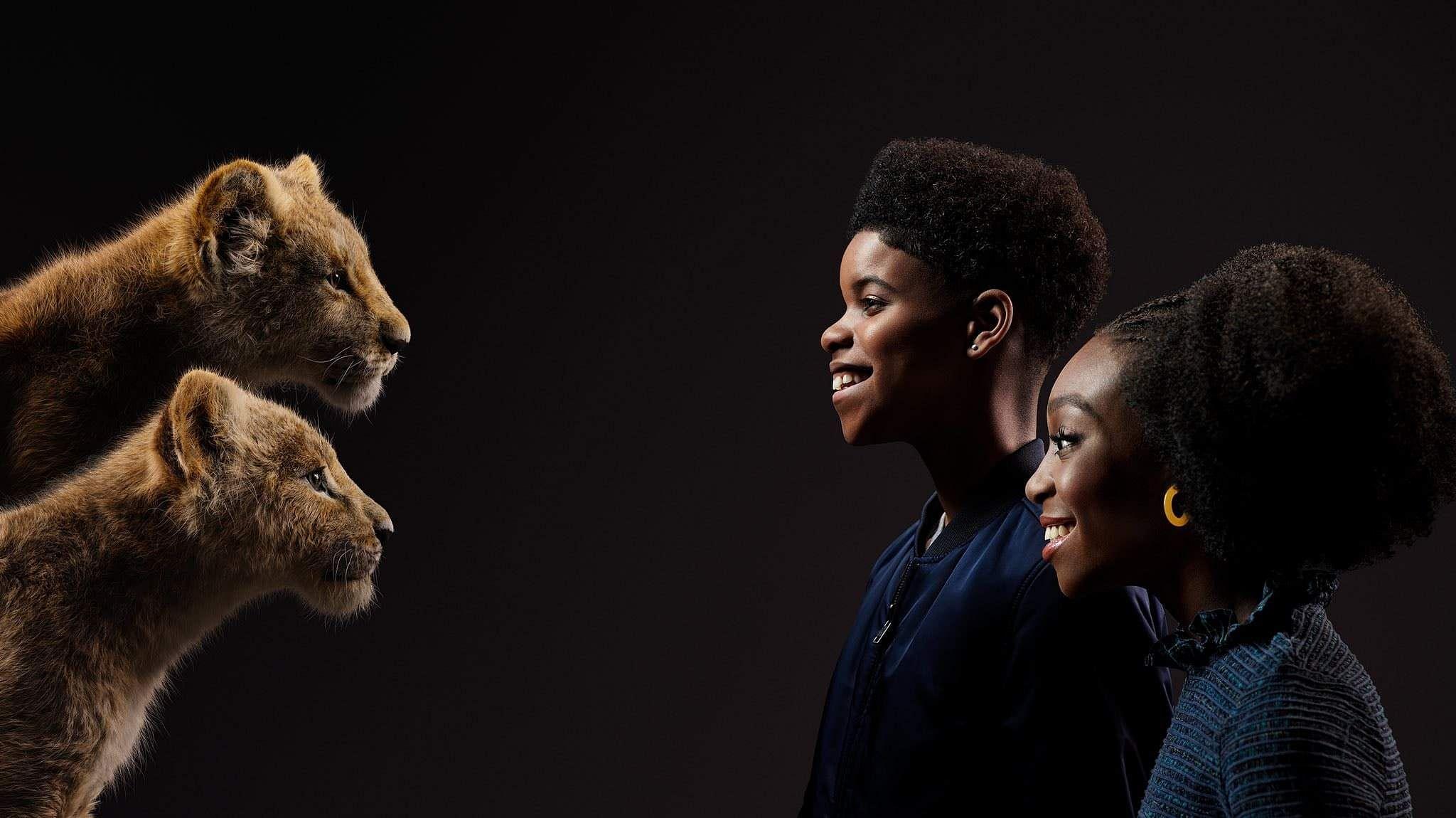 Lion King JD McCrary Shahadi Wright Joseph