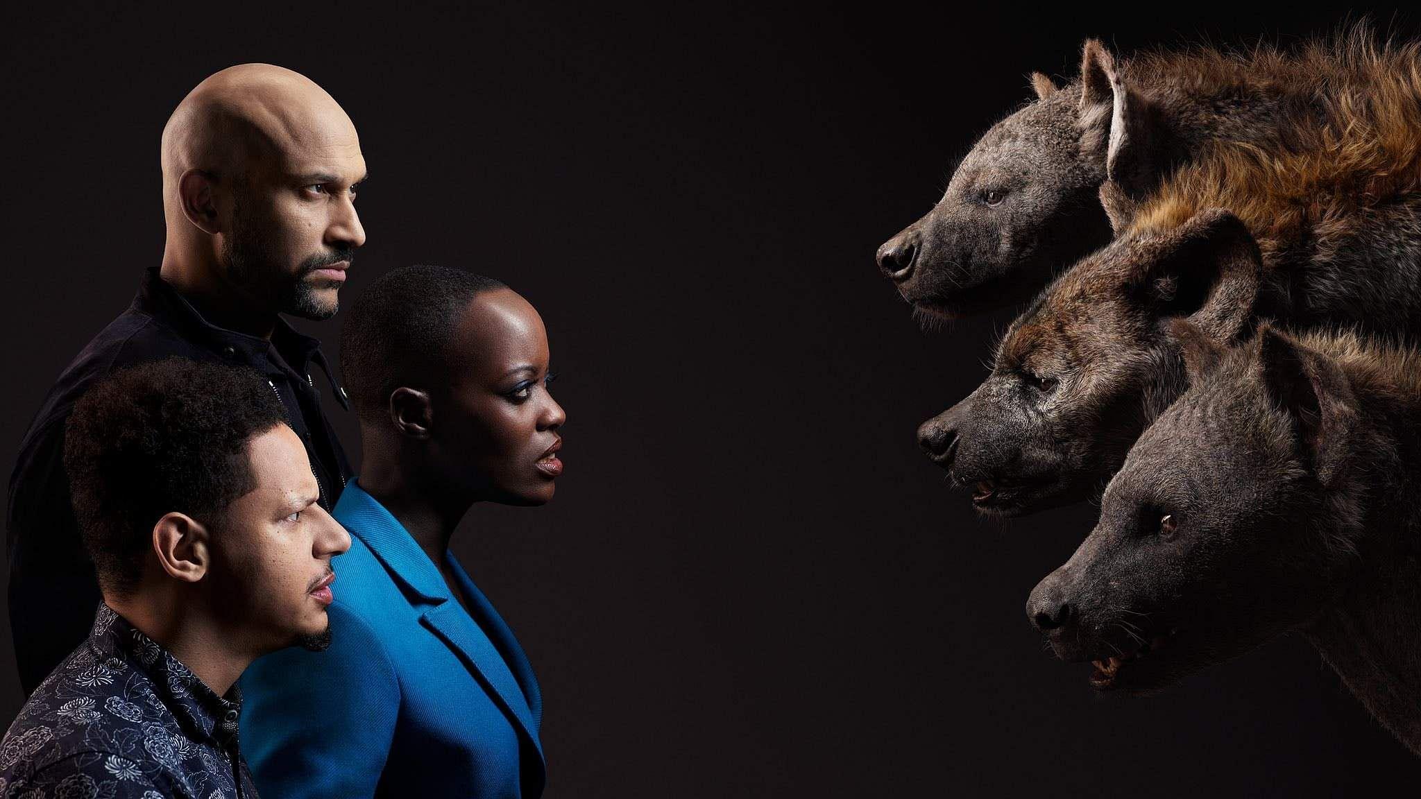 Lion King Keegan-Michael Key, Florence Kasumba, and Eric Andre
