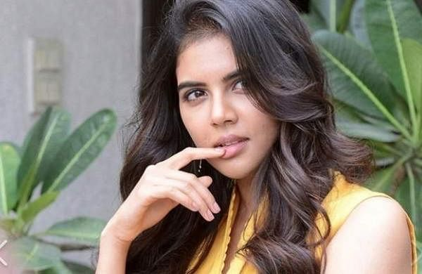 Latest clicks of Kalyani Priyadarshan from the promotions of  Ranarangam